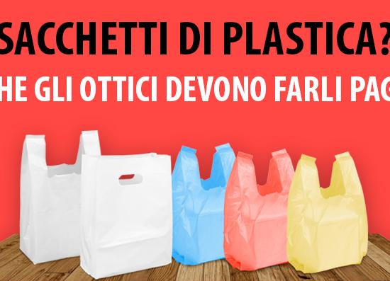 Sacchetti di plastica: le regole per gli ottici e per gli utenti WINeyes