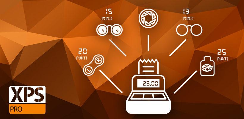 Gestisci le Fidelity Card del tuo negozio di ottica con WINeyes XPS Pro